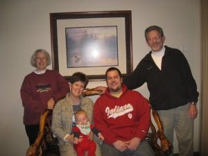 The Bolden Clan •December 2009