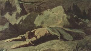 Perow, Wassilij Grigorjewitsch. Christus im Garten von Gethsemane. 1878.