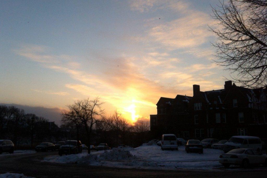 Sunset at the Prayer League