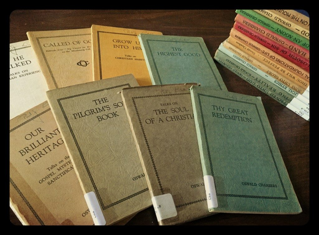 Books by Oswald Chambers