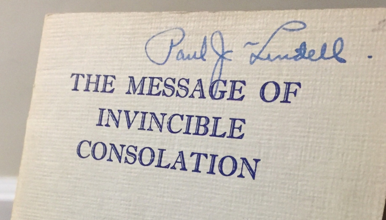 The Message of Invincible Consolation