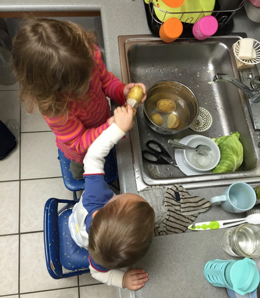 tater-scrubbing